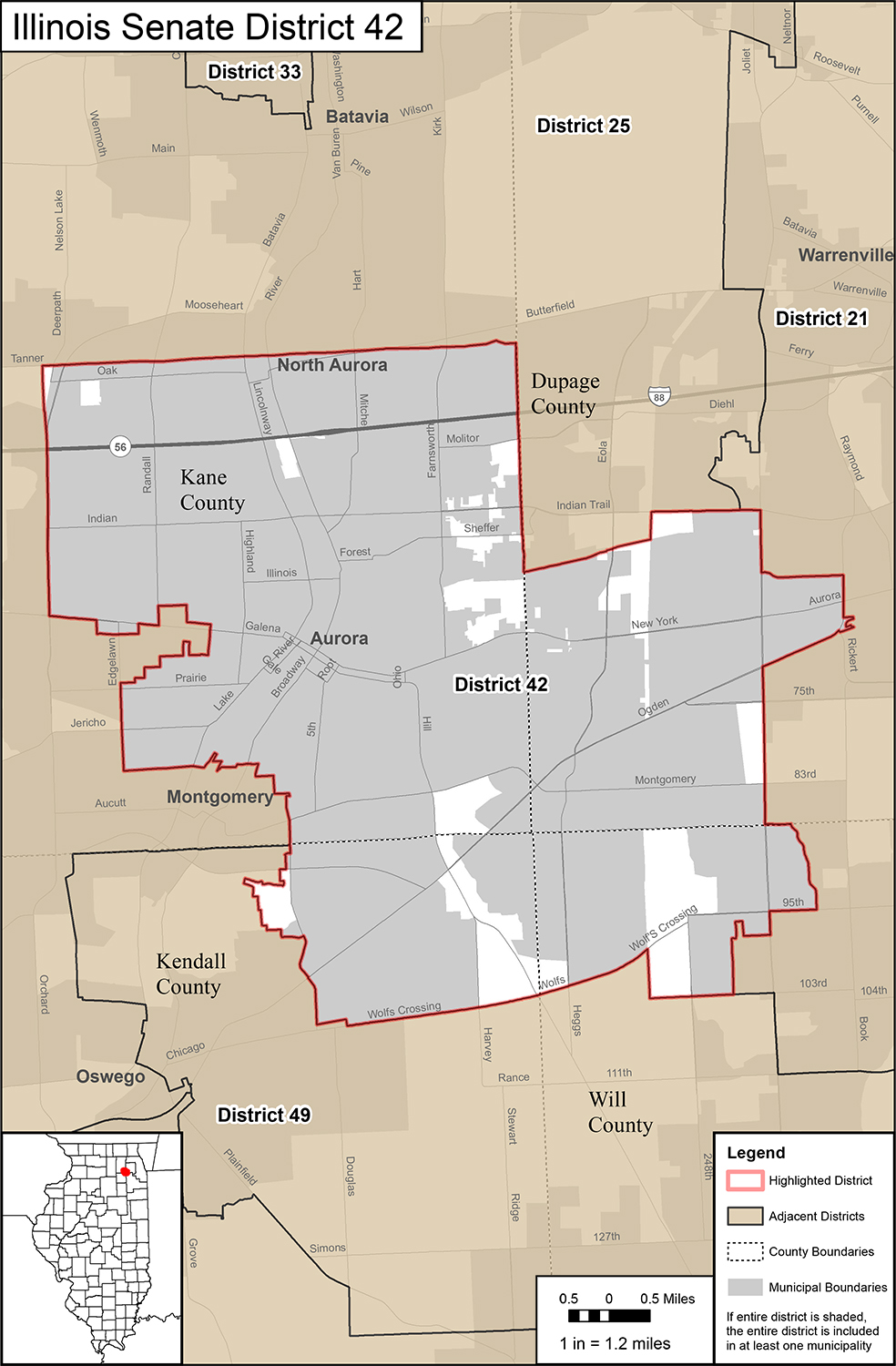 42nd Senate District